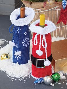 Crochet Christmas Candle Patterns