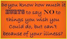 For all my Chronic illness peeps, I feel your pain!