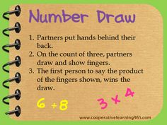Go Green with Number Draw