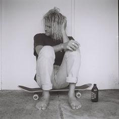 Kurt Cobain. favorite picture of him. ever.