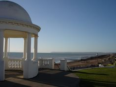 Hubby's hometown Bexhill-on-Sea, East Sussex, England East Sussex, What A Wonderful World, Wonders Of The World, Places Ive Been, Gazebo, Places To Visit, England, Outdoor Structures, Sea