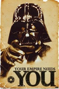 "FLM56054 ""Star Wars - Empire Needs You"" (24 X 36)"