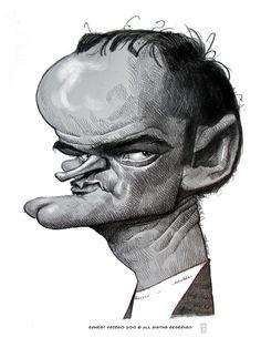 Quentin Tarantino by Ernesto Priego