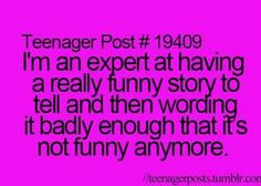 Story of my life..