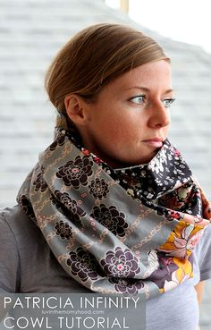 Patricia Infinity Scarf Sewing Pattern
