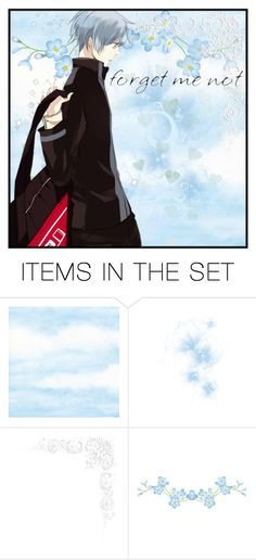 """""""Forget me not // Kuroko Tetsuya [Kuroko no Basket]"""" by ender-chic52 ❤ liked on Polyvore featuring art"""