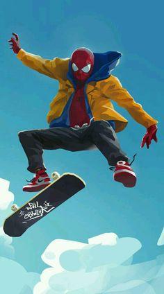 Spider-Man Art gray color with blue undertones - Gray Things Marvel Comics, Marvel Heroes, Marvel Avengers, Marvel Wallpaper, Mobile Wallpaper, Wallpaper Wallpapers, Iphone Wallpapers, Animal Wallpaper, Wall Wallpaper
