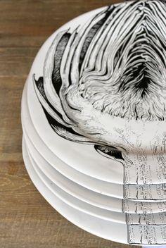 KAMERS Easter in Joburg, featured on Elle Decoration blog - Artichoke Plates - by Lardiere