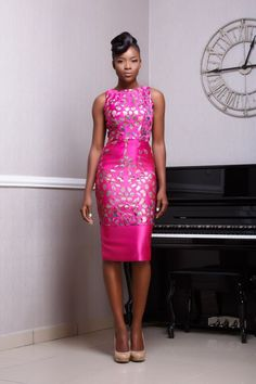 "Funke Adepoju Presents Here Resort 2016 Collection ""A Very Floral Dream"" 