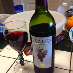 Llano Sweet Red (best red wine ever) Lubbock TX  Um...yes! It's my fav-o-rite!
