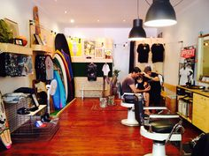 Barber surf shop