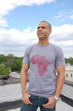 Africa Geography shirt
