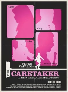 All sizes | Doctor Who: The Caretaker Retro Poster | Flickr - Photo Sharing!