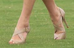 Kate's open-toed heels