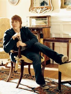 Rupert Grint one day im gonna marry you.. and you being a giner? oh thats just a plus(;