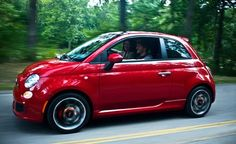 FIAT 500... Thinking about it, wish more European compacts would come to the US... Such a shame.