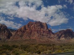 Las Vegas Red Rock Canyon - Photo taken from the scenic loop drive.
