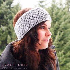 Criss Cross Head Wrap By Ana Benson - Free Crochet Pattern - (ravelry)