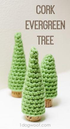Free Cork Evergreen Pine Tree