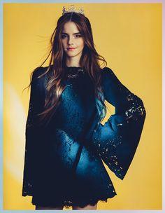 emma watson wonderland shoot4 Emma Watson Enchants for Wonderland Magazine by Christian Oita