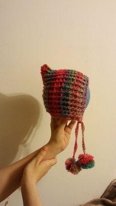 #Crochet Pixie Style Bonnet Hat #TUTORIAL