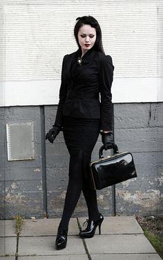Corporate goth.