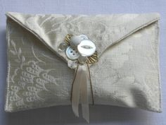 envelope purse by found and sewn, via Flickr