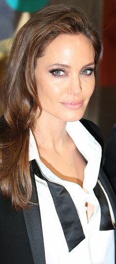 Angelina Jolie loved her look at Bafta's awards in London, she and Brad actually hung with my friends from L A SOOOO Jealous!!!!!!!