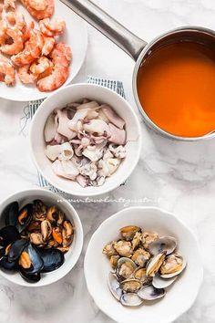 Risotto alla pescatora, buono come al ristorante - Ricetta Cereal, Oatmeal, Breakfast, Recipes, Food, Entertaining, The Oatmeal, Morning Coffee, Rolled Oats
