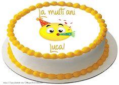 La mulți ani, Luca - Felicitari de zi de nastere pentru Luca - mesajeurarifelicitari.com Free Birthday Greeting Cards, Free Birthday Greetings, Online Greeting Cards, Birthday Invitations, Birthday Cake, Happy Birthday John, Cake Quotes, Smiley, Desserts