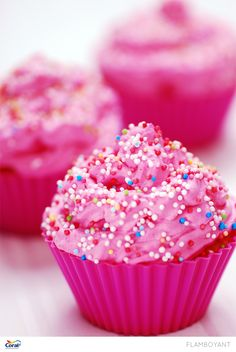 Pink cupcakes!
