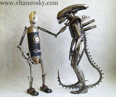 Tom vs Alien