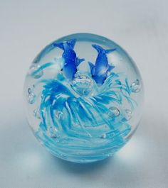 M Design Art Handcraft Dolphins In Clear Bubbles Paperweight PW684 Kitchen * Click image to review more details.