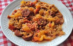 Chorizo, Harissa, Paella, Fried Rice, Pesto, Chili, Fries, Soup, Ethnic Recipes