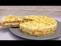 Κέικ του αμύγδαλα. συνταγή απλός # 202 - YouTube Ramadan Recipes, Party Desserts, What To Cook, Cake Art, No Bake Cake, Almond, Cheesecake, Deserts, Cooking Recipes