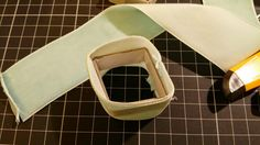 Follow me and see if I success in the attempt of ________ .: Making Vintage Velvet Ring Box