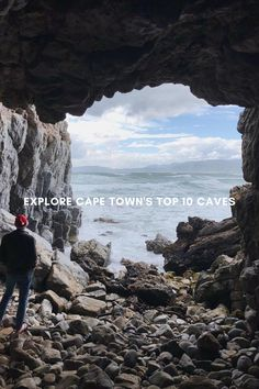 Top 10 Caves to Explore in and around Cape Town - Secret Cape Town Stuff To Do, Things To Do, Rock Formations, Caves, Cape Town, Westerns, Gems, Inspire, Explore