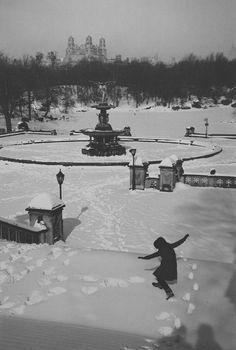 Edouard Boubat - Central Park, 1964. S)