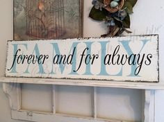 FAMILY   Family Signs   32 x 8 1/2