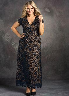 modest plus size dresses (13)