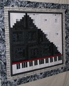 piano quilt