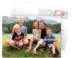 Carte postale personnalisée pour immortaliser ces instants passés en famille, ref N111160