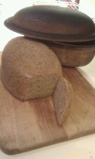 No-knead-glutenfree bread i Rømertopf