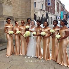 Dark Champagne Satin Mermaid Bridesmaid Dresses Off Shoulder Long Wedding Guest Dress Party Wedding For Women Vestido Madrinha Cheap Bridesmaid Dresses Online, Champagne Bridesmaid Dresses, Gold Bridesmaids, Mermaid Bridesmaid Dresses, Prom Dresses, Bridesmaid Outfit, Flowergirl Dress, African Bridesmaid Dresses, Lilac Bridesmaid