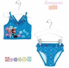 6b77021a31 Frozen Swimsuit for girls UV protection swimwear children bathing suits  kids one piece swim suits frozen