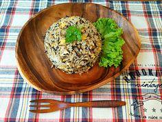ことり's dish photo ともさんのお料理  ひじきチャーハン   http://snapdish.co #SnapDish #レシピ #再現料理 #炒めご飯/チャーハン #ひじき