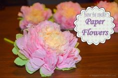 how to make paper flowers, diy, home decor, how to, seasonal holiday decor
