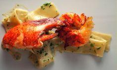 Pappardelles au Homard et sauce crémeuse au homard