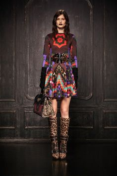 Just Cavalli Pre Fall 2013 Collection