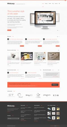 Minicorp WP - Not Just a Corporate Theme - #wordpress #theme #template #responsive #design #webdesign #creative